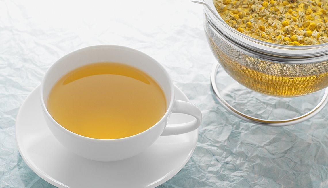 manzanilla, tea, natural, pain, killers