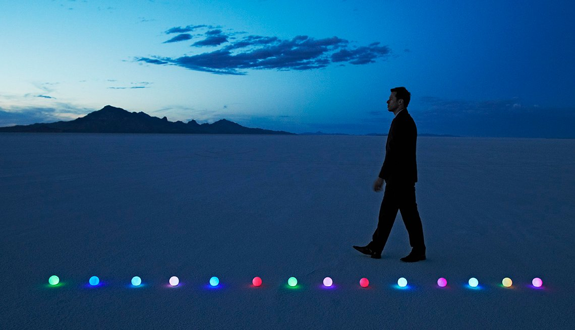Man In Suit Walking In Desert At Dawn, Can Too Much Solitude Be A Bad Thing?, Healthy Living
