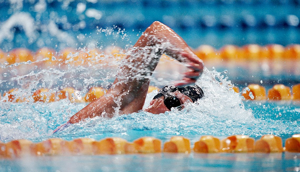Dana Torres, Freestyle Swimming, How to Quadruple Your Energy