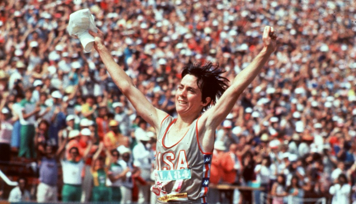 Joan Benoit Samuelson, Arms Raised in Victory, How to Quadruple Your Energy