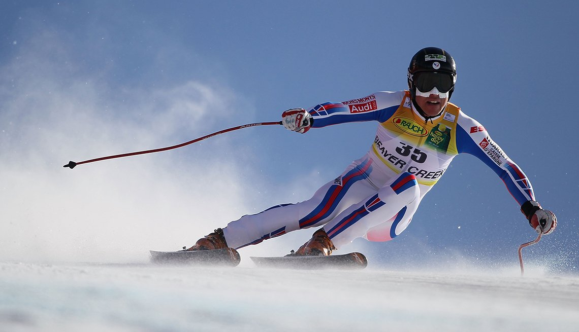 Johan Clarey Downhill Skiing, Snow Spray, How to Quadruple Your Energy