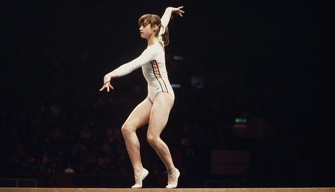 Nadia Comaneci, Balance Beam, 1976 Olympics, How to Quadruple Your Energy