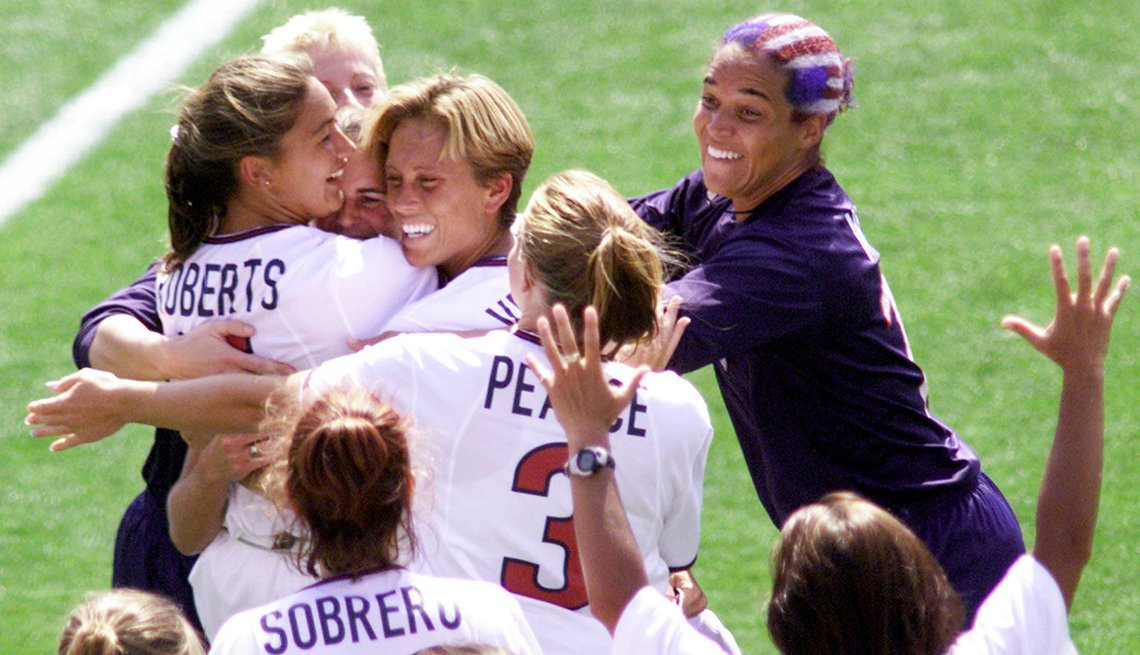 US Women World Cup Celebration, 1999 World Cup Victory, How to Quadruple Your Energy