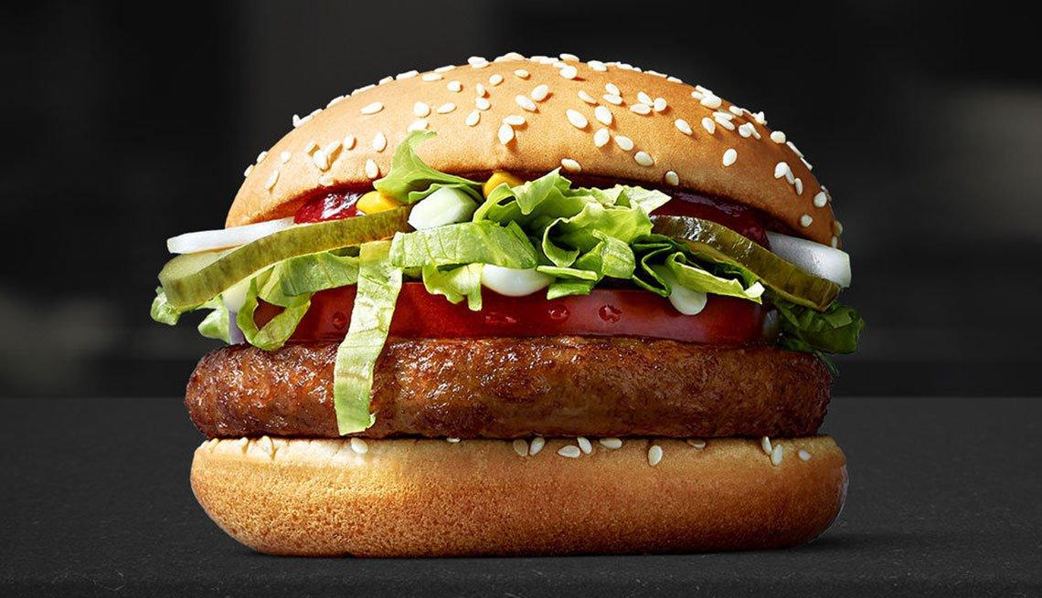Sandwich Mcvegan burger