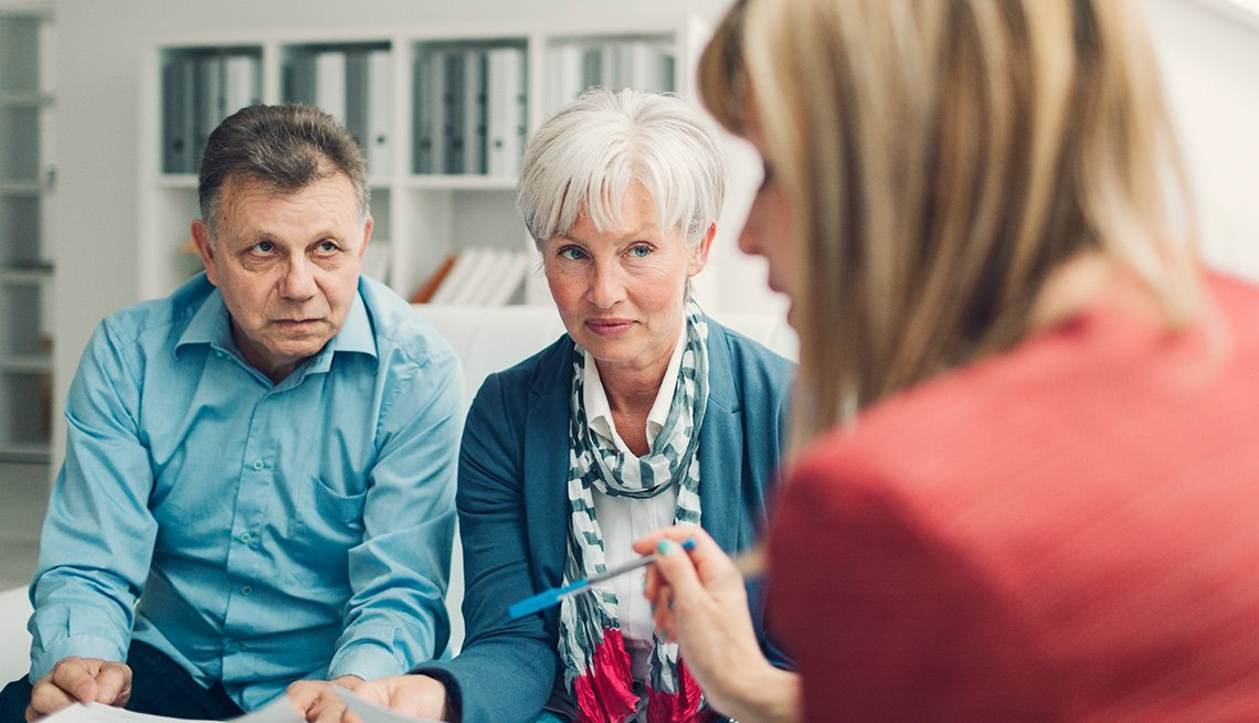 Couple Meeting with Advisor, Living With Medicare