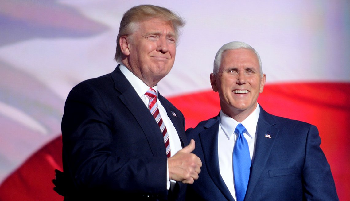 Medicare - THE PLAYERS, Trump and Pence