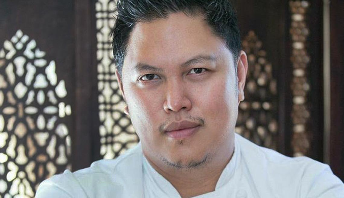 Portrait of Chef Cocoy.
