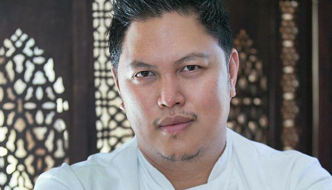 Portrait of Chef Cocoy.