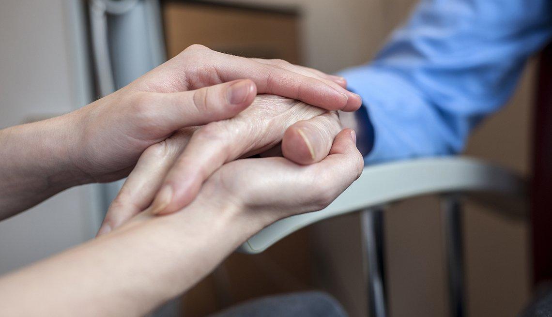 Masaje de mano: un acto de comunicación en el cuidado