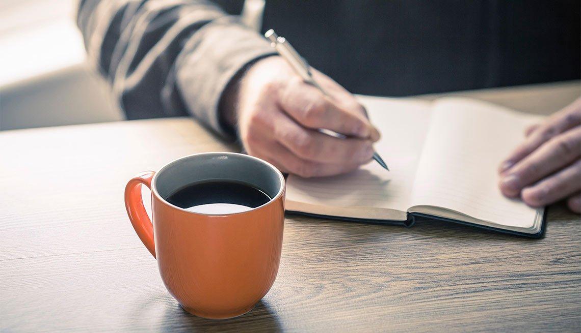 El papel terapéutico de llevar un diario