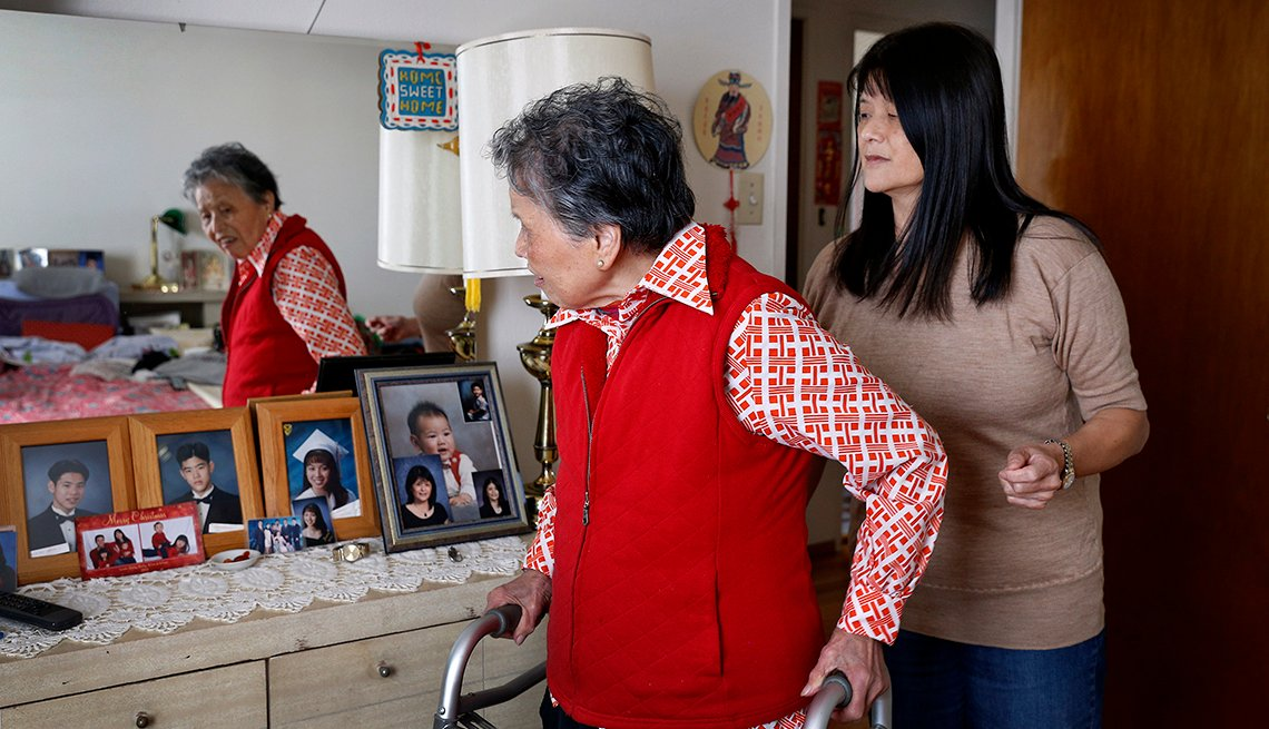 Changing Roles Caregiving, Chun Family