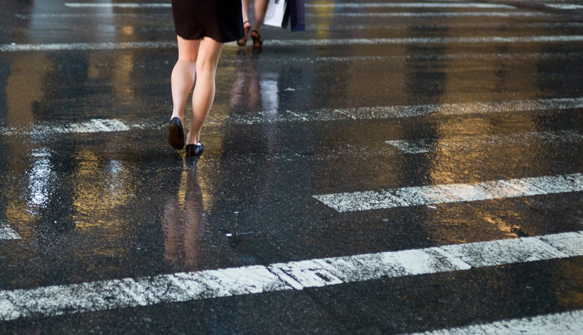 Single Woman Crossing the Street, Dating For Introverts