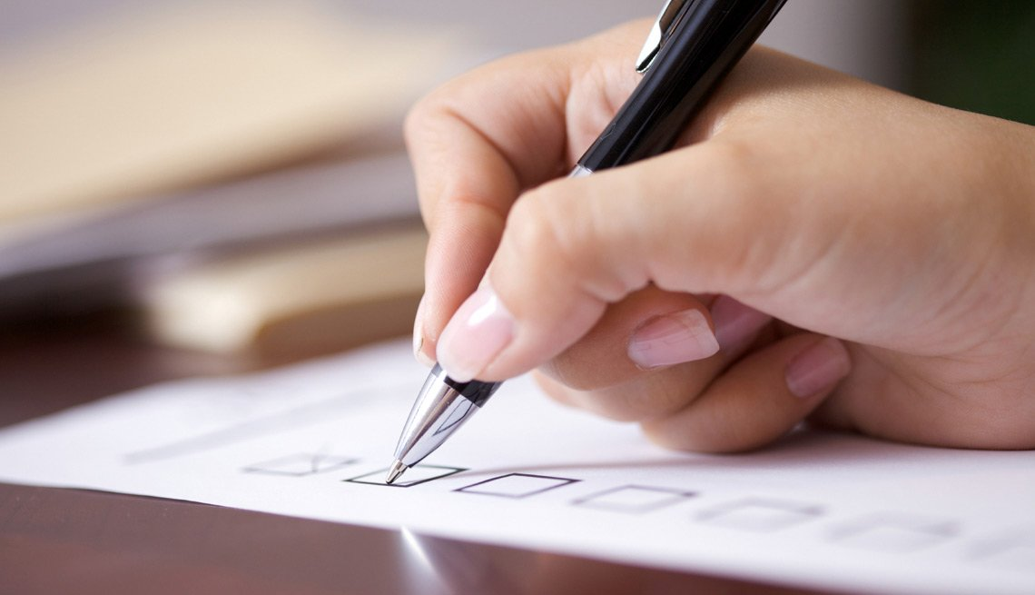 Hand With Pen and Paper, Make a Dating Shopping List