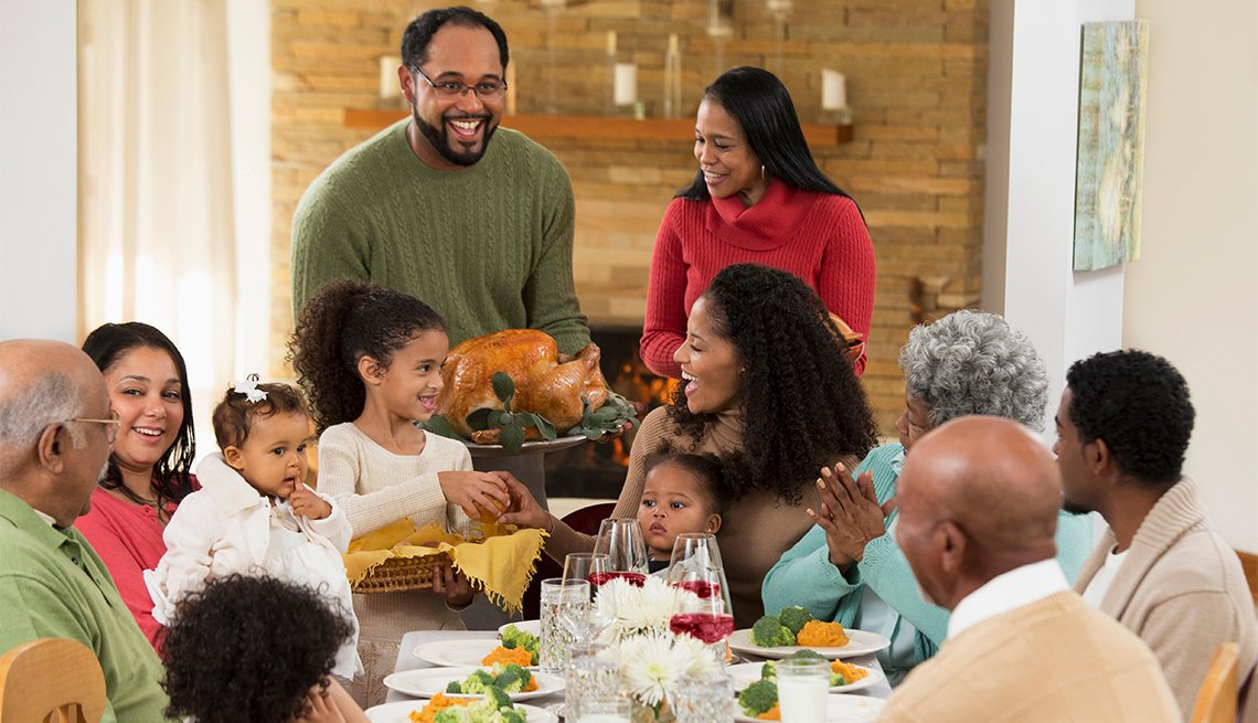 How to Keep a Family Feud Off the Turkey Day Menu