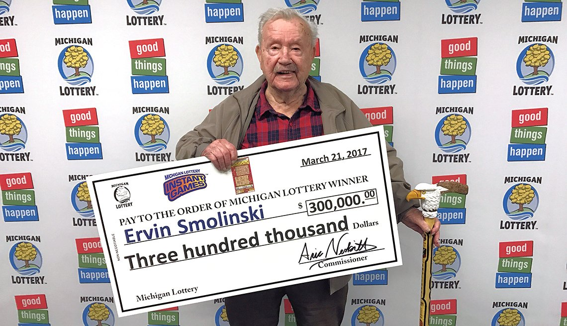 veteran wins lottery with birthday gift