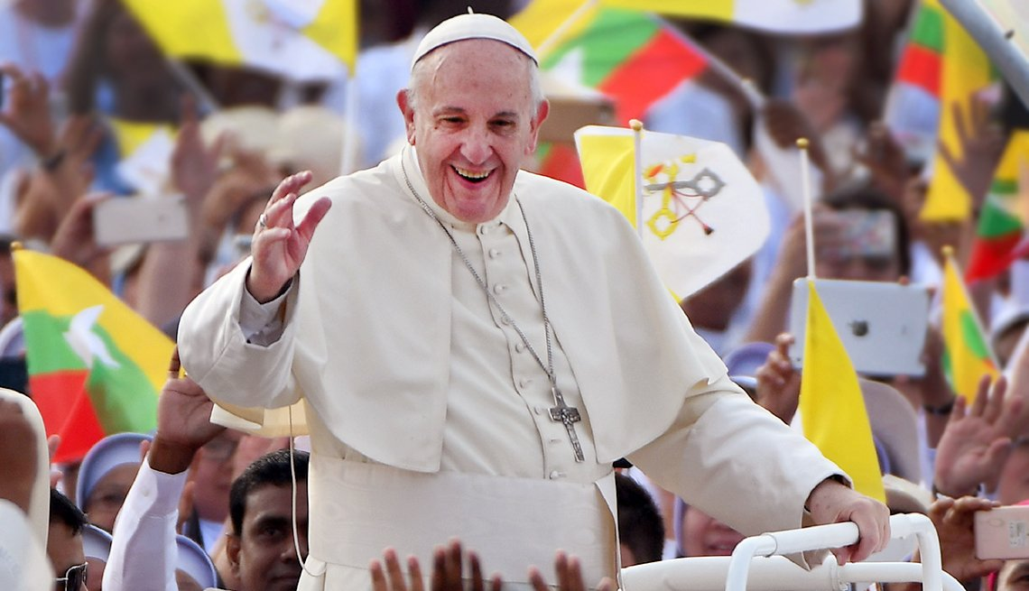 Pope Francis Supports Change to Lord's Prayer
