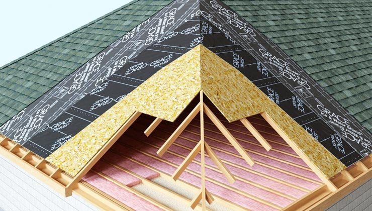 universal design helps people age in place- the roof is insulated and weather-protected