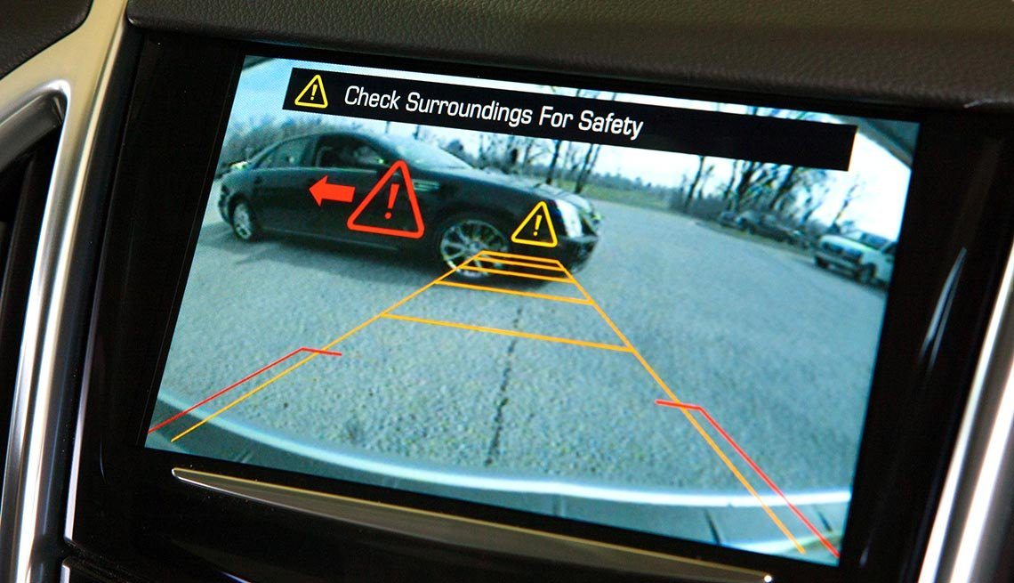 Latest high tech car features - Backup Cameras/Parking Sensors
