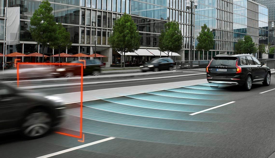 Latest high tech car features - Collision-Avoidance System