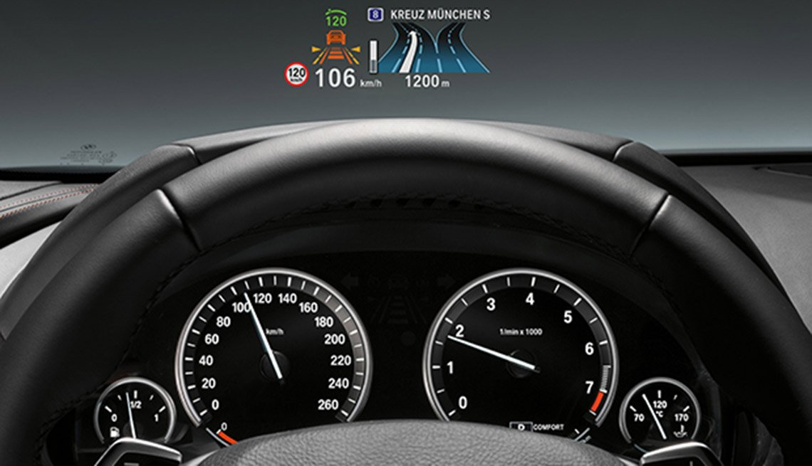 Latest high tech car features - Heads-Up Displays