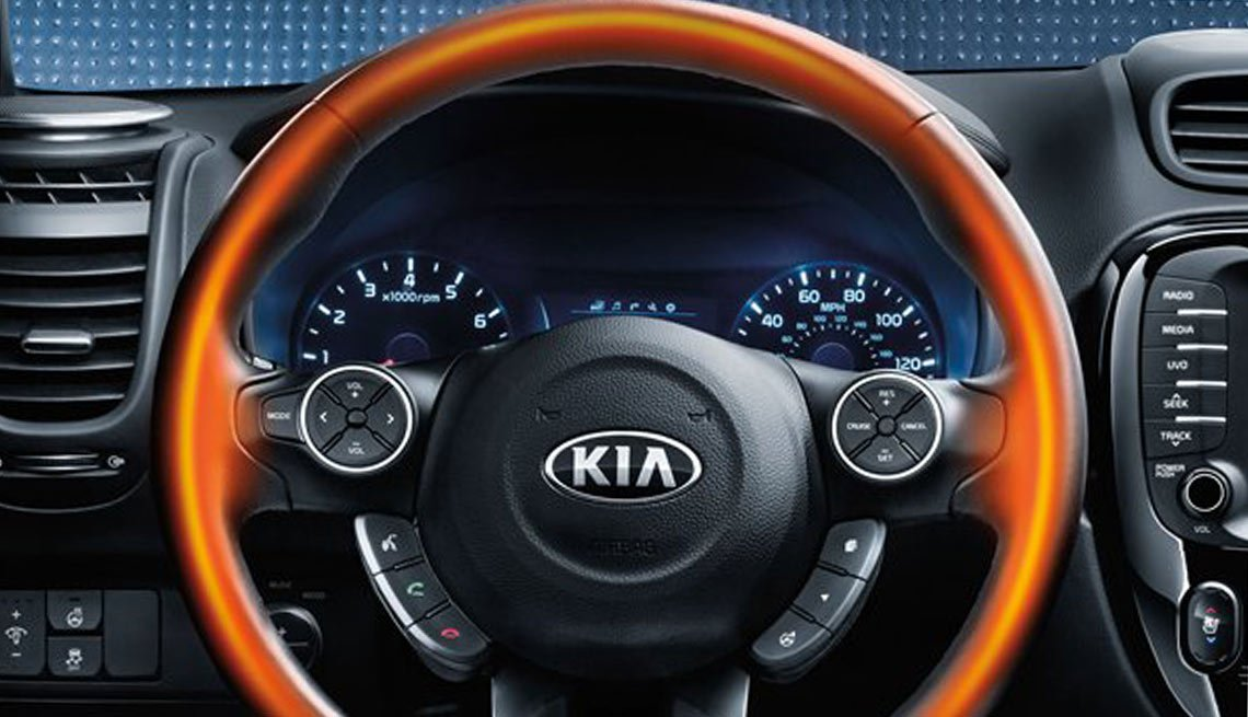 Latest high tech car features - Heated Steering Wheel