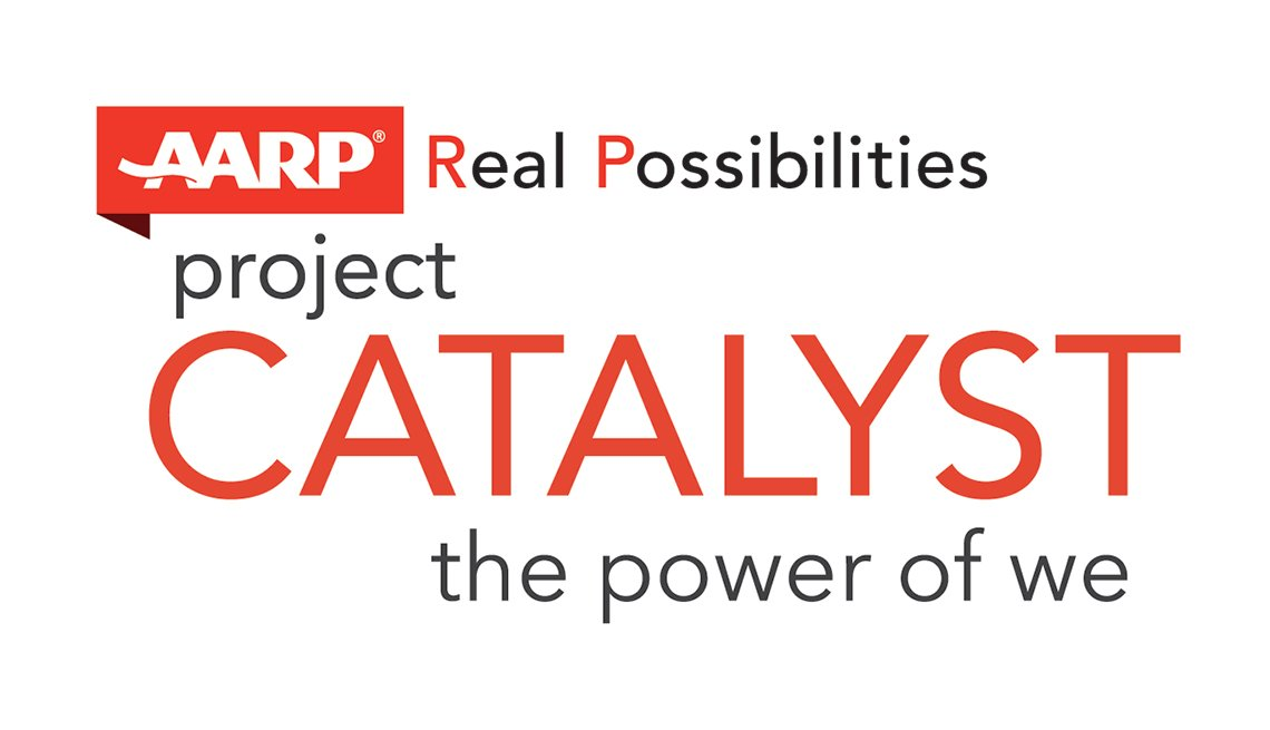 Innovation@50+, Project Catalyst Logo, AARP