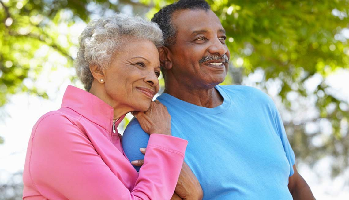 african american couple hugging, Friends With Benefits at 50