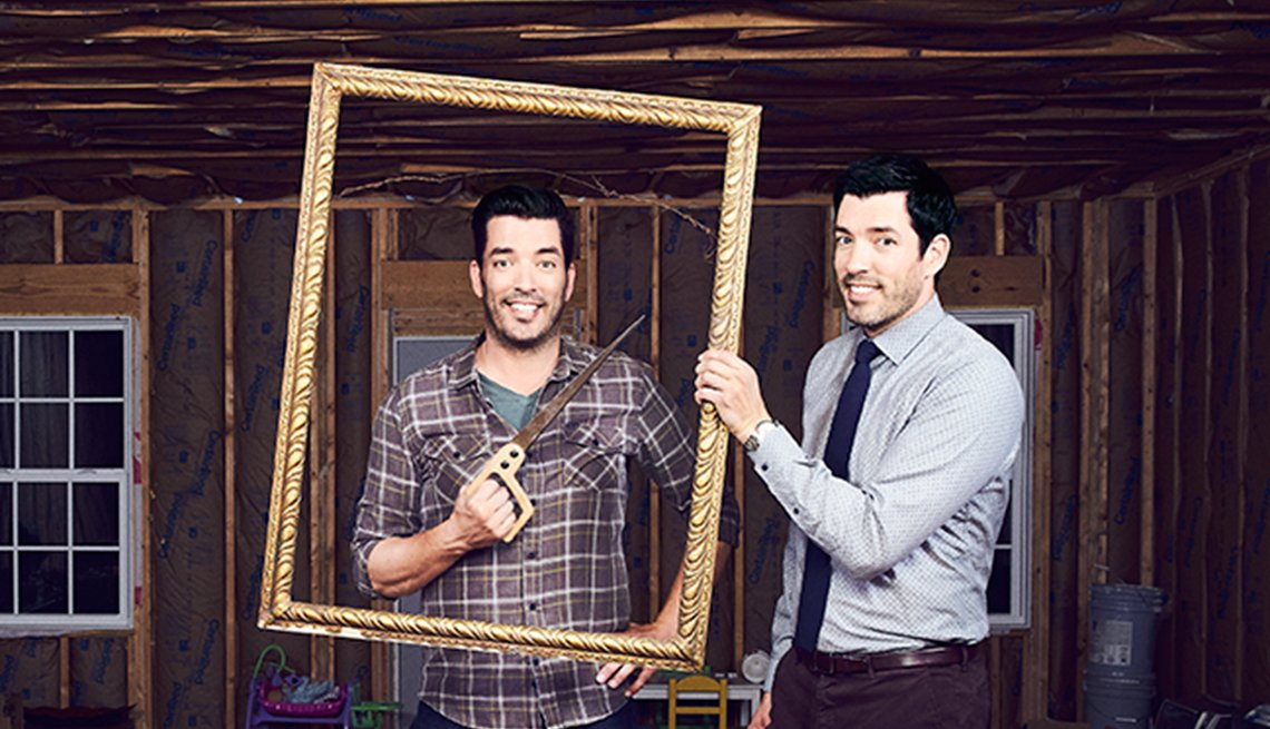 Jonathan and Drew Scott of The Property Brothers