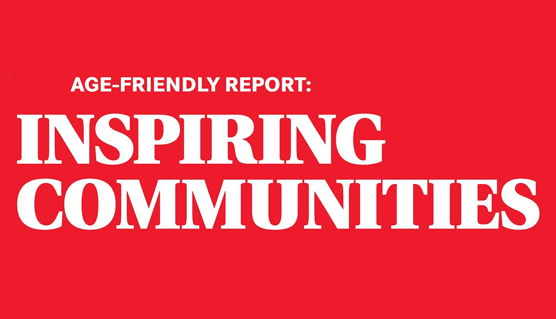 Cover of the Age-Friendly Report Inspiring Communities