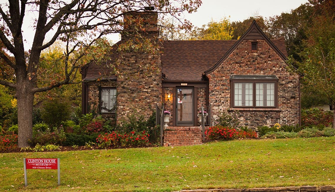 Bill And Hillary Clinton's Home In Fayetteville, Arkansas, Residence, Livable Communities, Great Cities For Older Adults