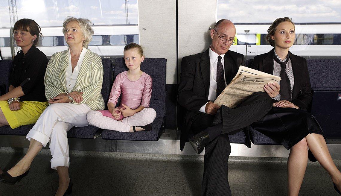 Transportation, Train, Passengers, Livable Communities, 8 Features Of An Age Friendly Community