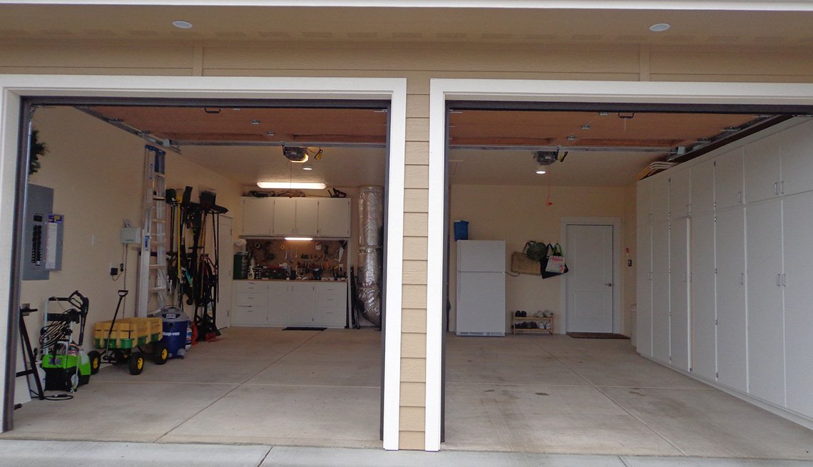 View Of Garage From Outside Of House, Livable Communities, Oregon, Lifelong Home