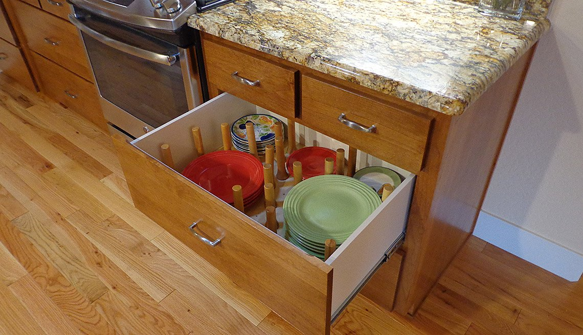 Kitchen, Drawers, Countertops, Home, Oregon, Livable Communities, Lifelong Homes