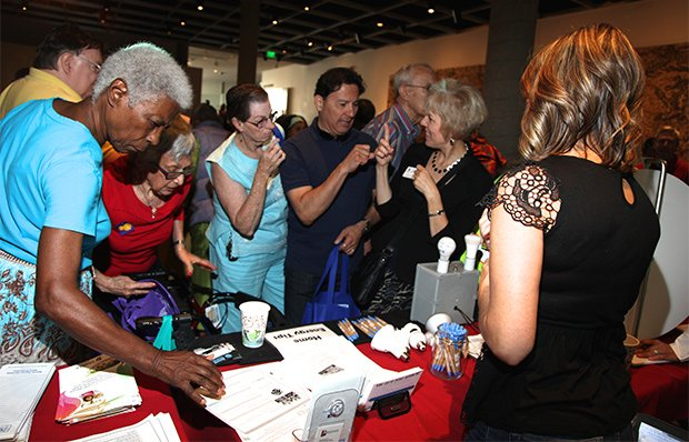 A senior services event in Denver, Colorado