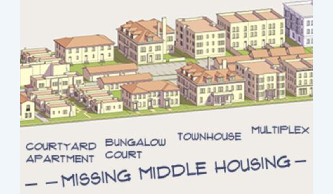 Six examples of Missing Middle Housing