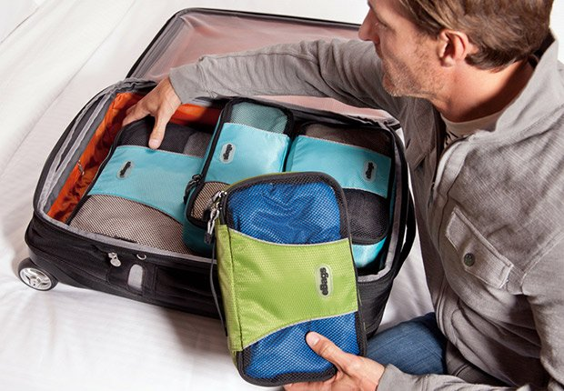 Pack smart when traveling by using cubes, What to do with $200