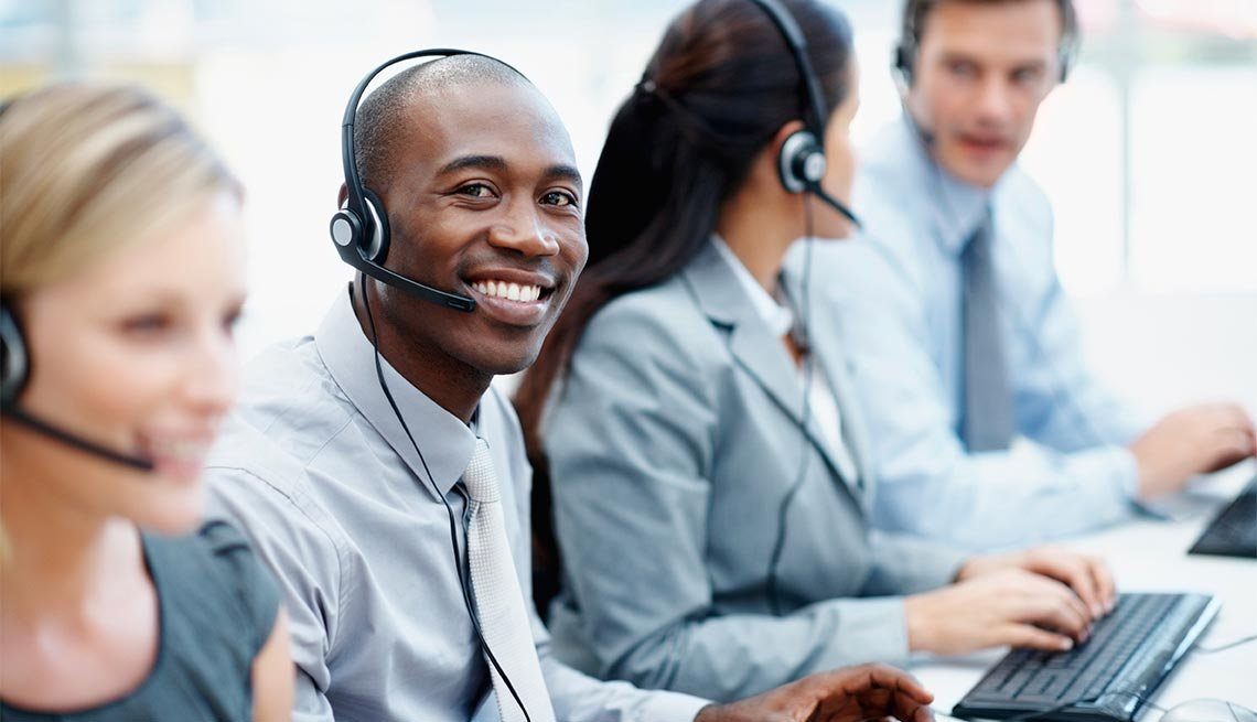 Here are a few things to say to customer service or call center reps.