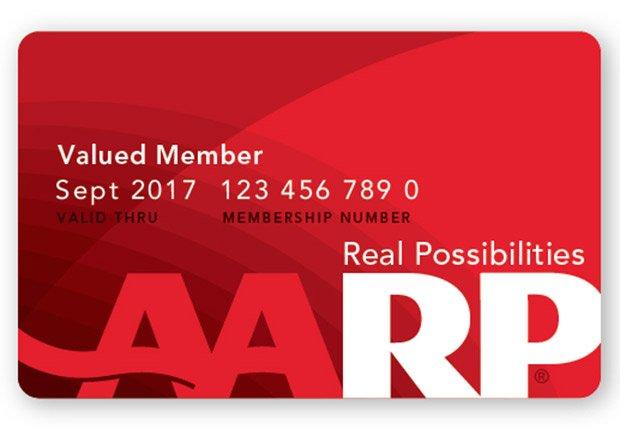age 50 - AARP membership