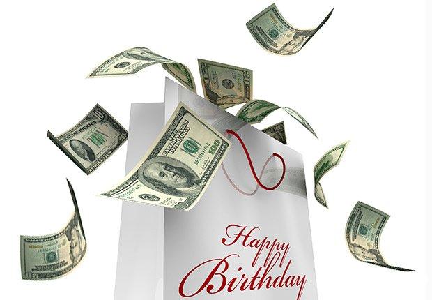Money Milestone Birthdays