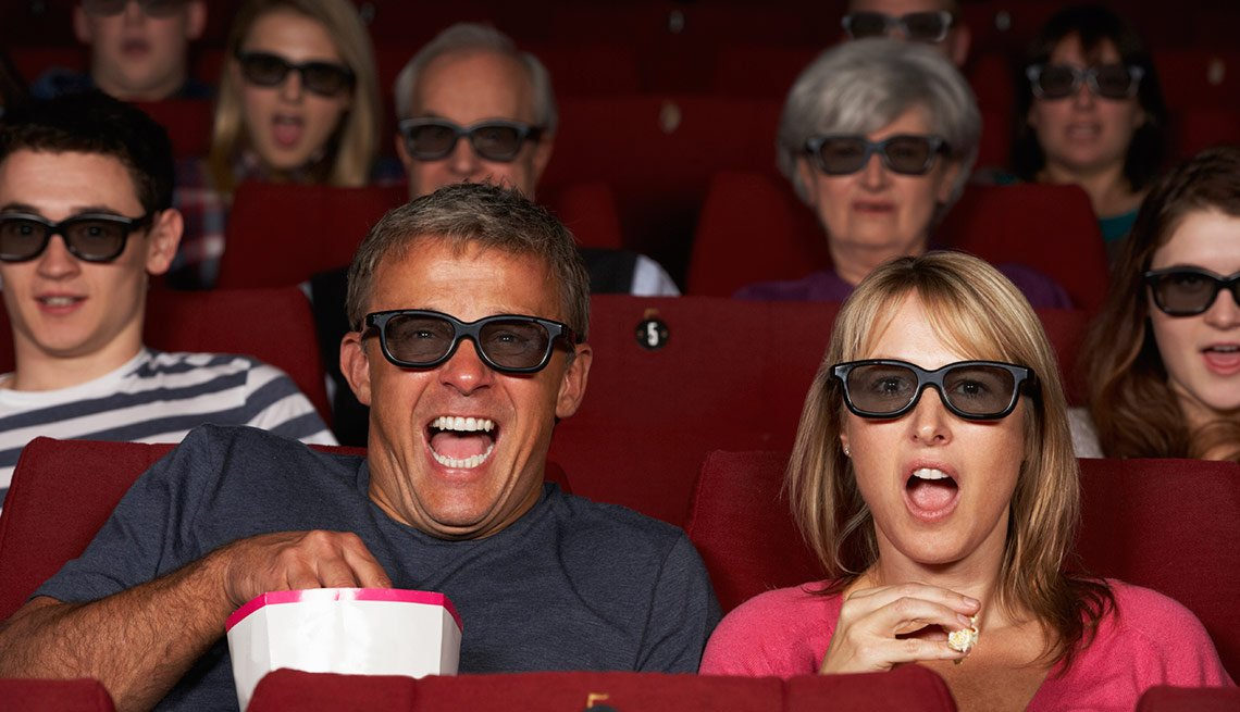 Senior Discounts movie tickets