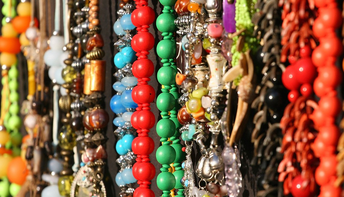 Easiest Things to Sell at a Yard Sale - Costume Jewelry