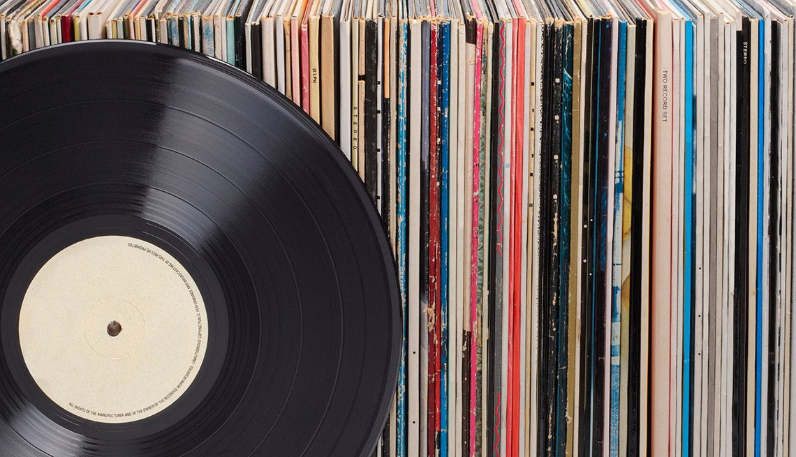 Easiest Things to Sell at a Yard Sale - Vinyl Records