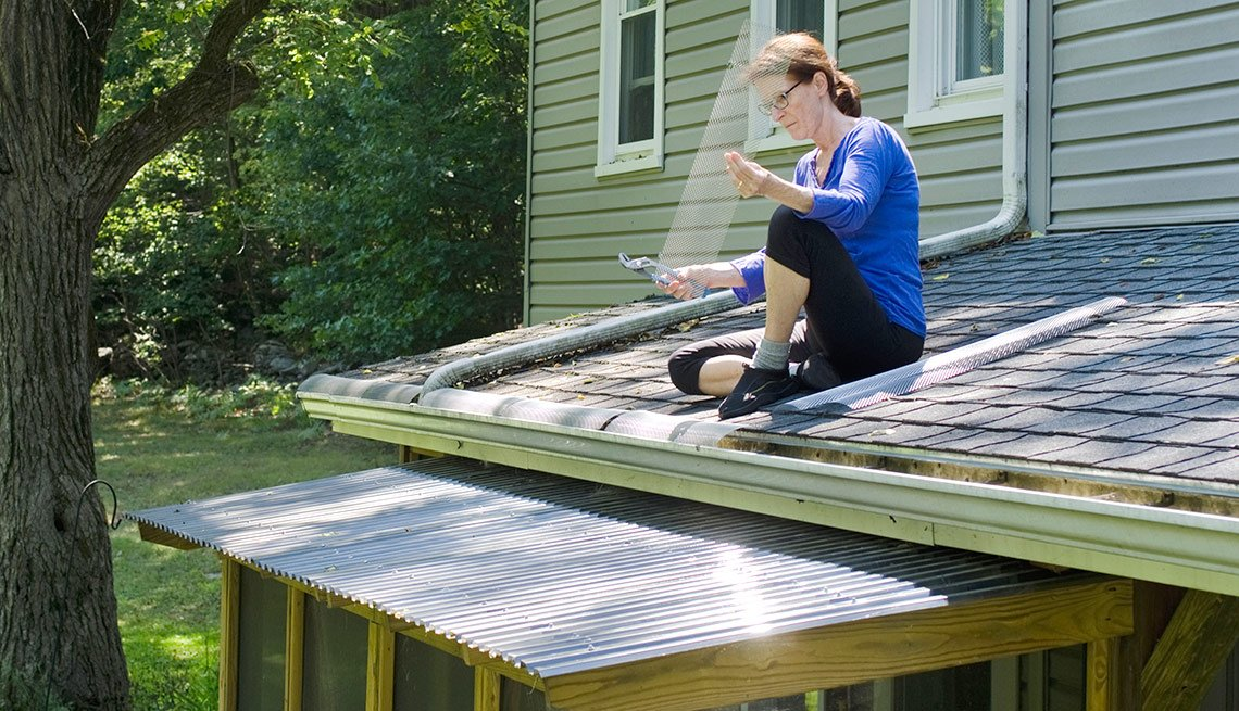 Easy Do-It-Yourself Home Improvement Fixes - Install gutter leaf guards.