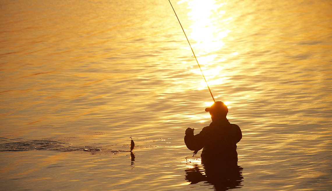 fishing on sunsetThings That Are Cheaper in Retirement - Recreation and Entertainment