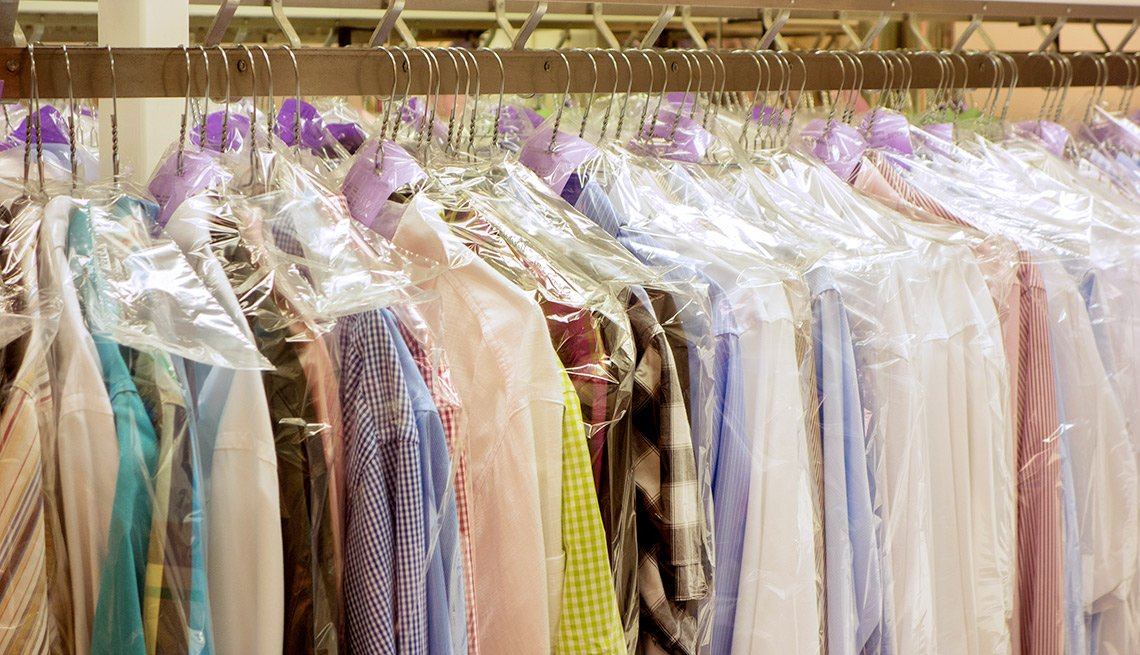 Things That Are Cheaper in Retirement Clothing and Dry Cleaning