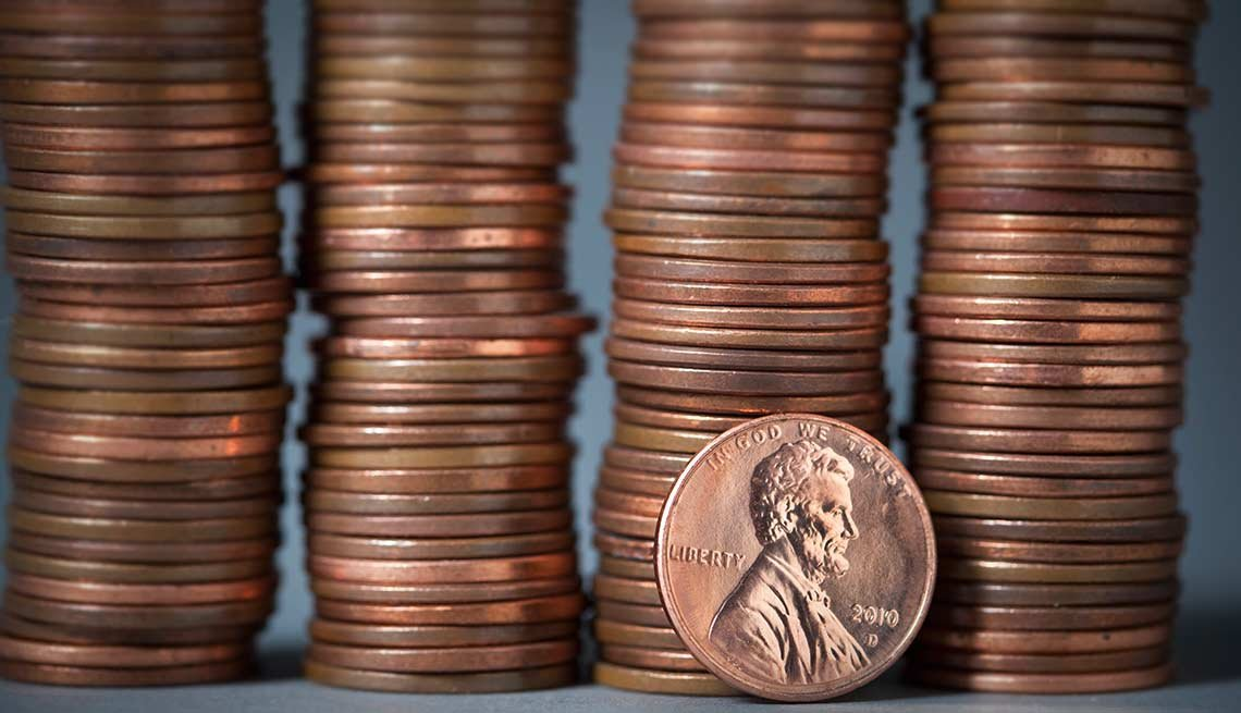 Surprising money facts    A penny saved