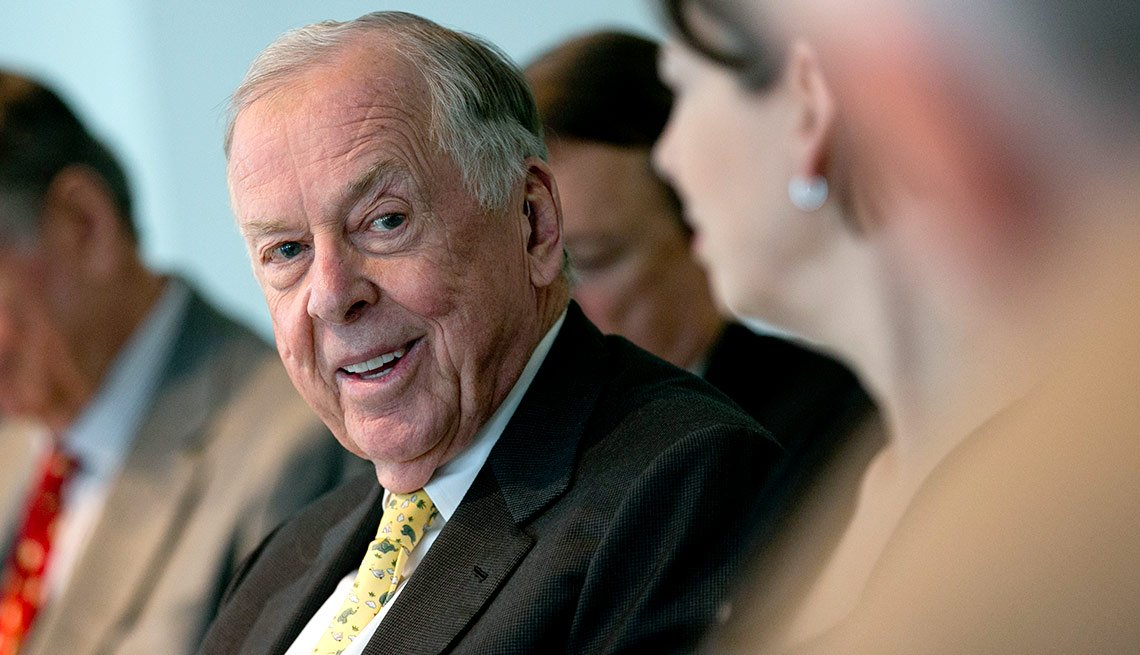Don't Go Anywhere With Money in Your Pocket Looking for Something to Buy T. Boone Pickens