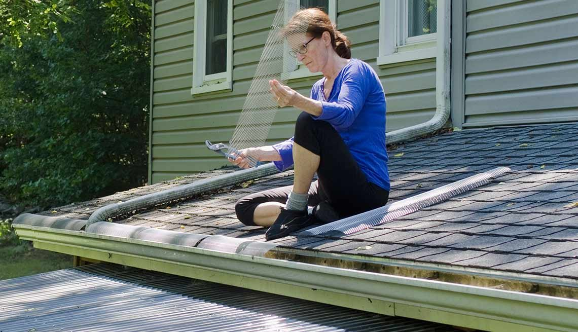 Outdoor DIY Fixes for Your Home -Add gutter guards