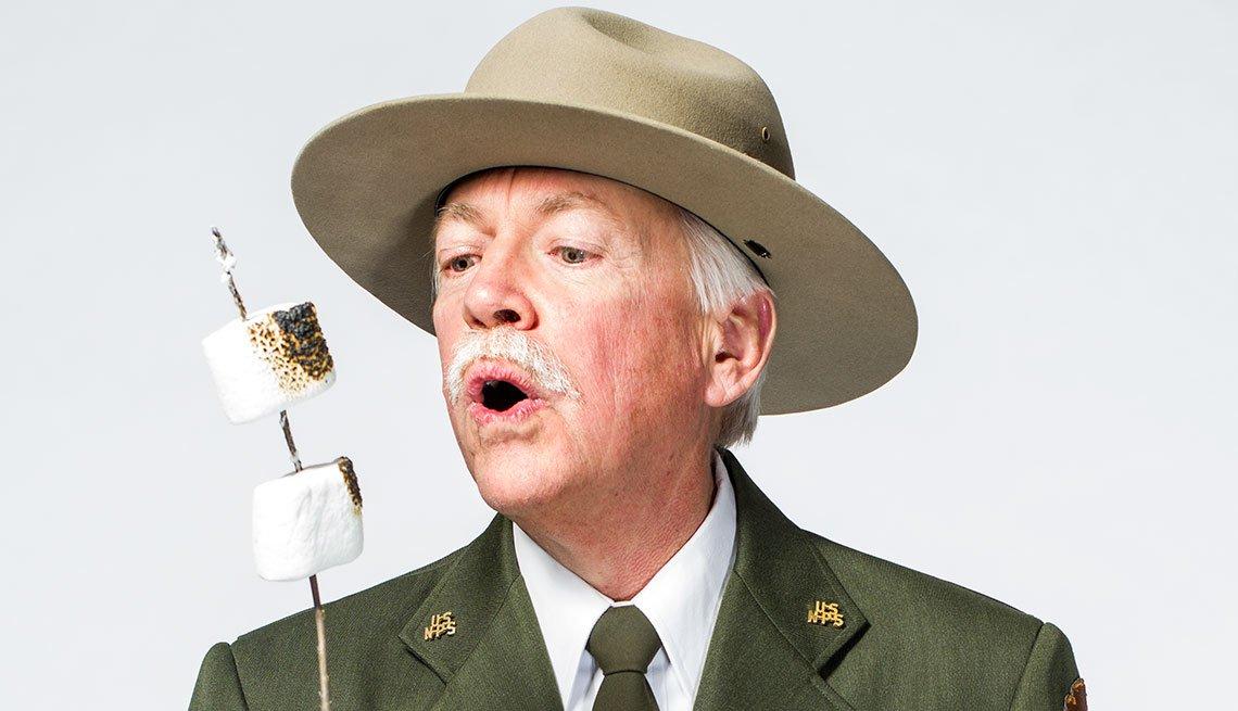 Jon Jarvis NPS National Park Service ranger