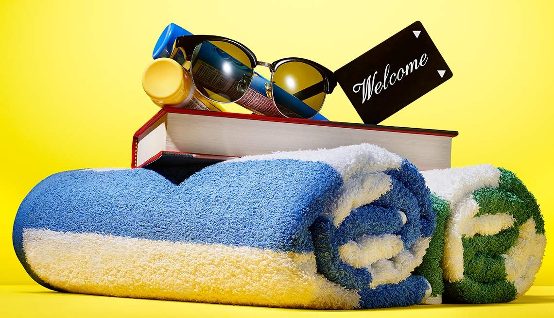 Pamper yourselves at a luxury hotel.